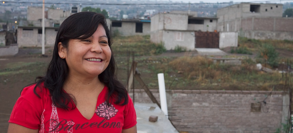 Martita at Home Outside Mexico City. Photo by EMBARQ.