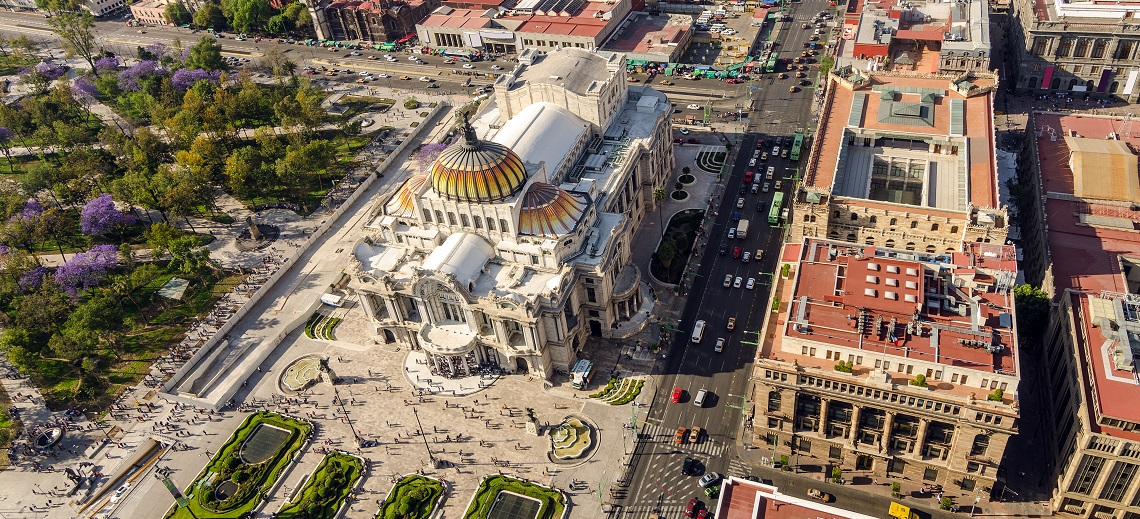 Palacio de Bellas Artes, Mexico City. Photo by Jess Kraft/Shutterstock.