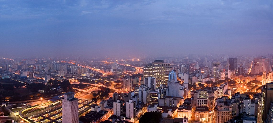 Skyline of São Paulo, Brazil. Photo by Fernando Stankuns/Flickr.